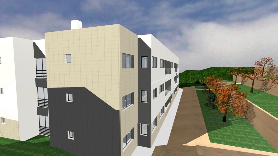 "RESIDENTIAL BUILDING ""TÉTRIS"""