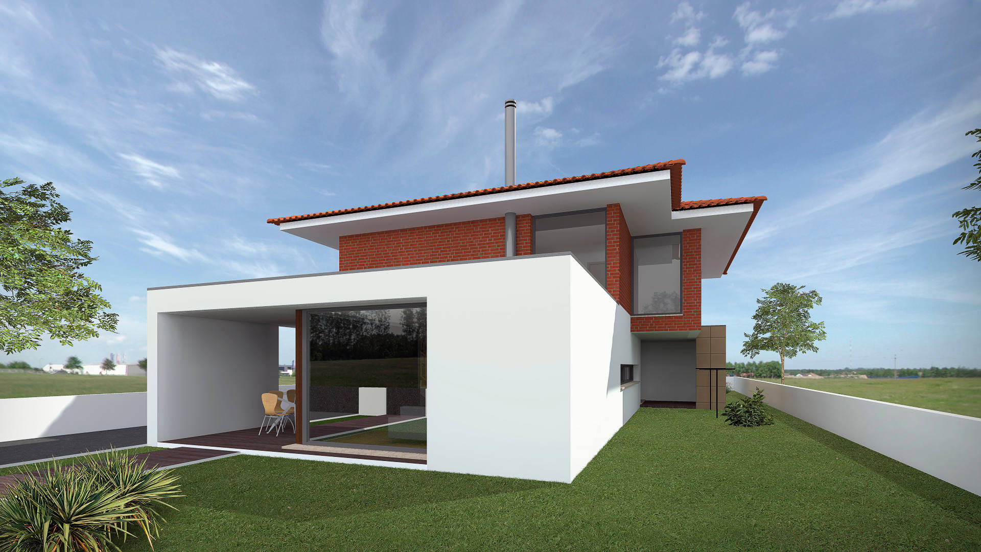 "SINGLE FAMILY HOUSE 3Q ""ERIDANUS TS"""