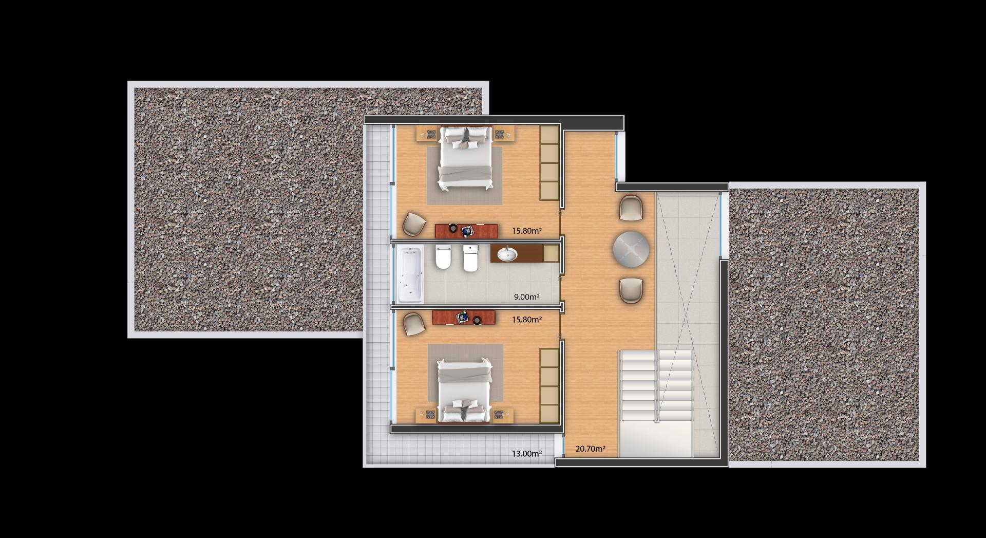 "SINGLE FAMILY HOUSE 3Q ""ERIDANUS TS"""