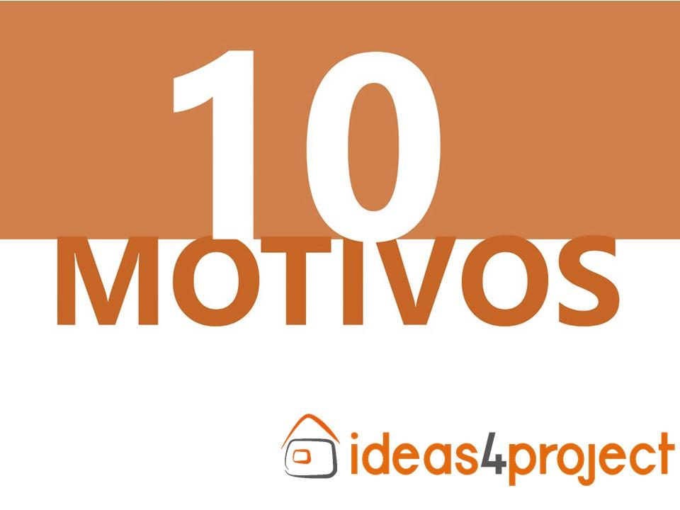 10 motivos para comprar na loja Ideas4Project