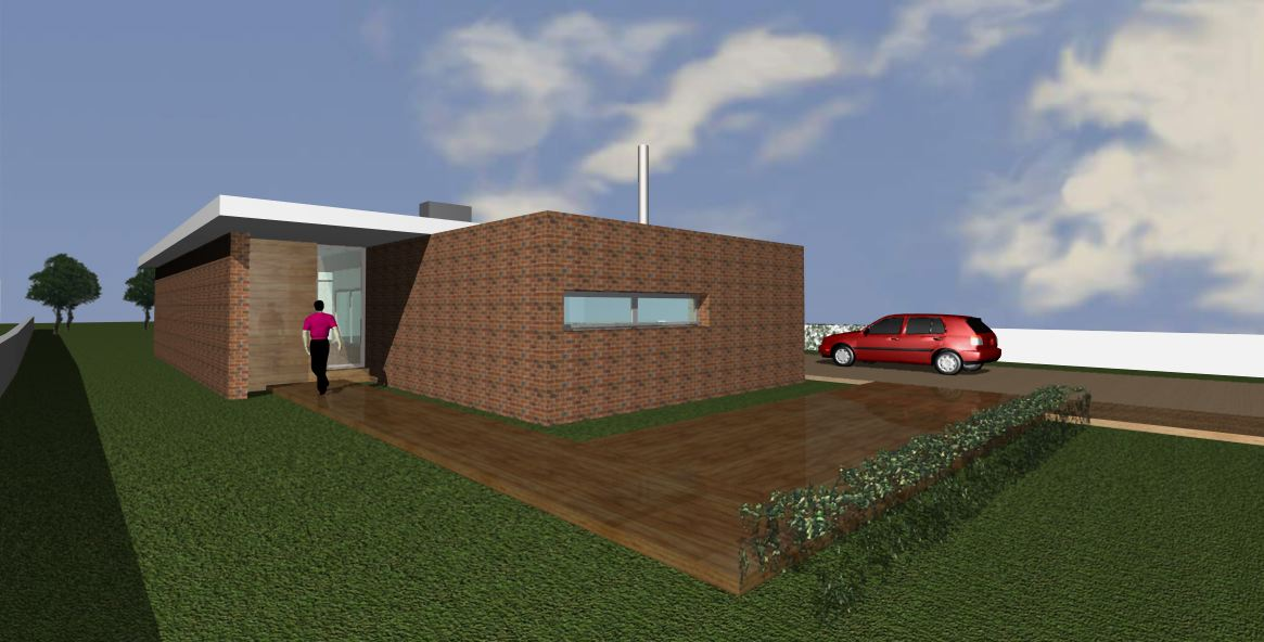 "SINGLE FAMILY HOUSE 3Q ""COMETA"""