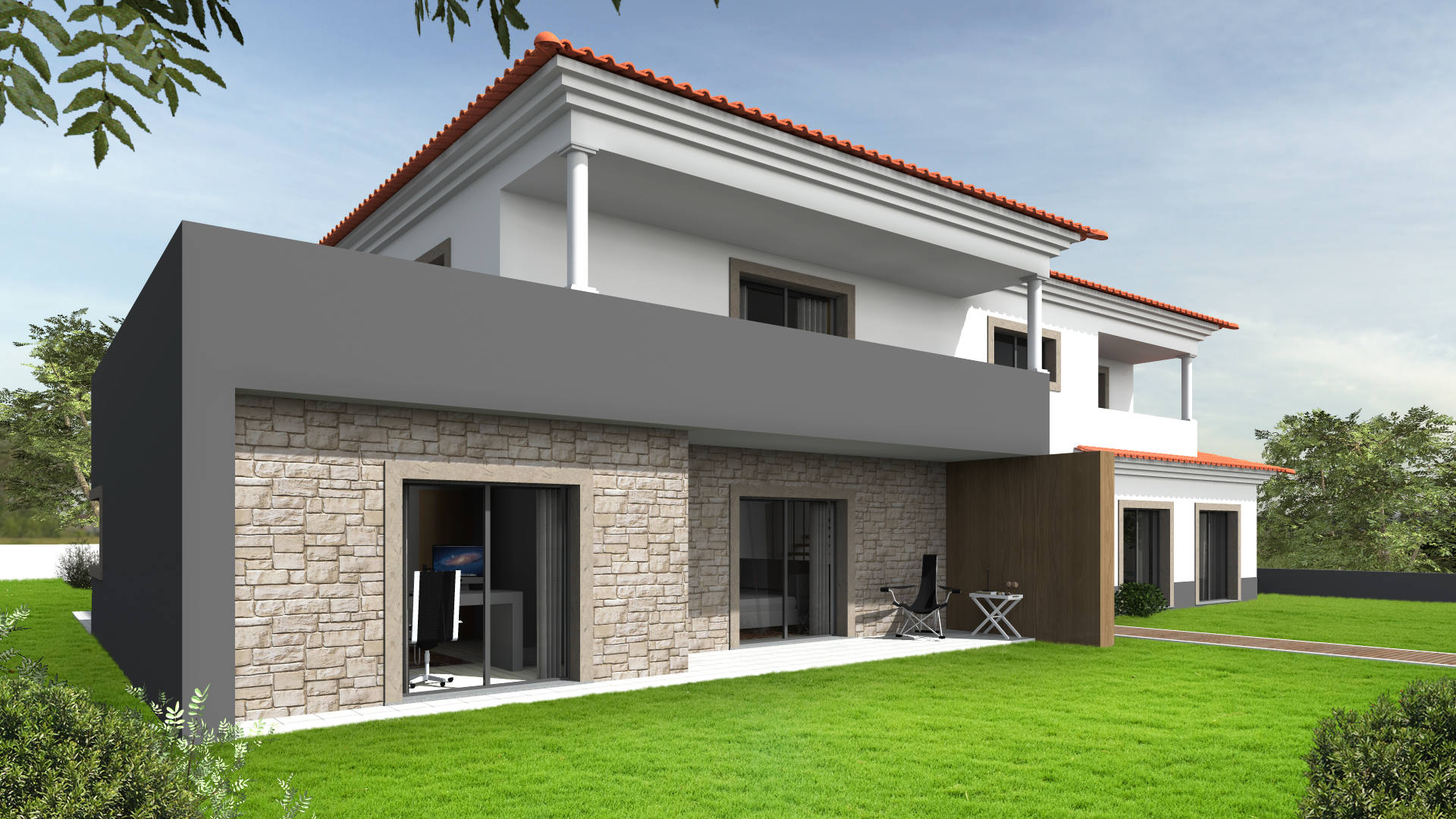 "SINGLE FAMILY HOUSE 5Q ""BURIL"""