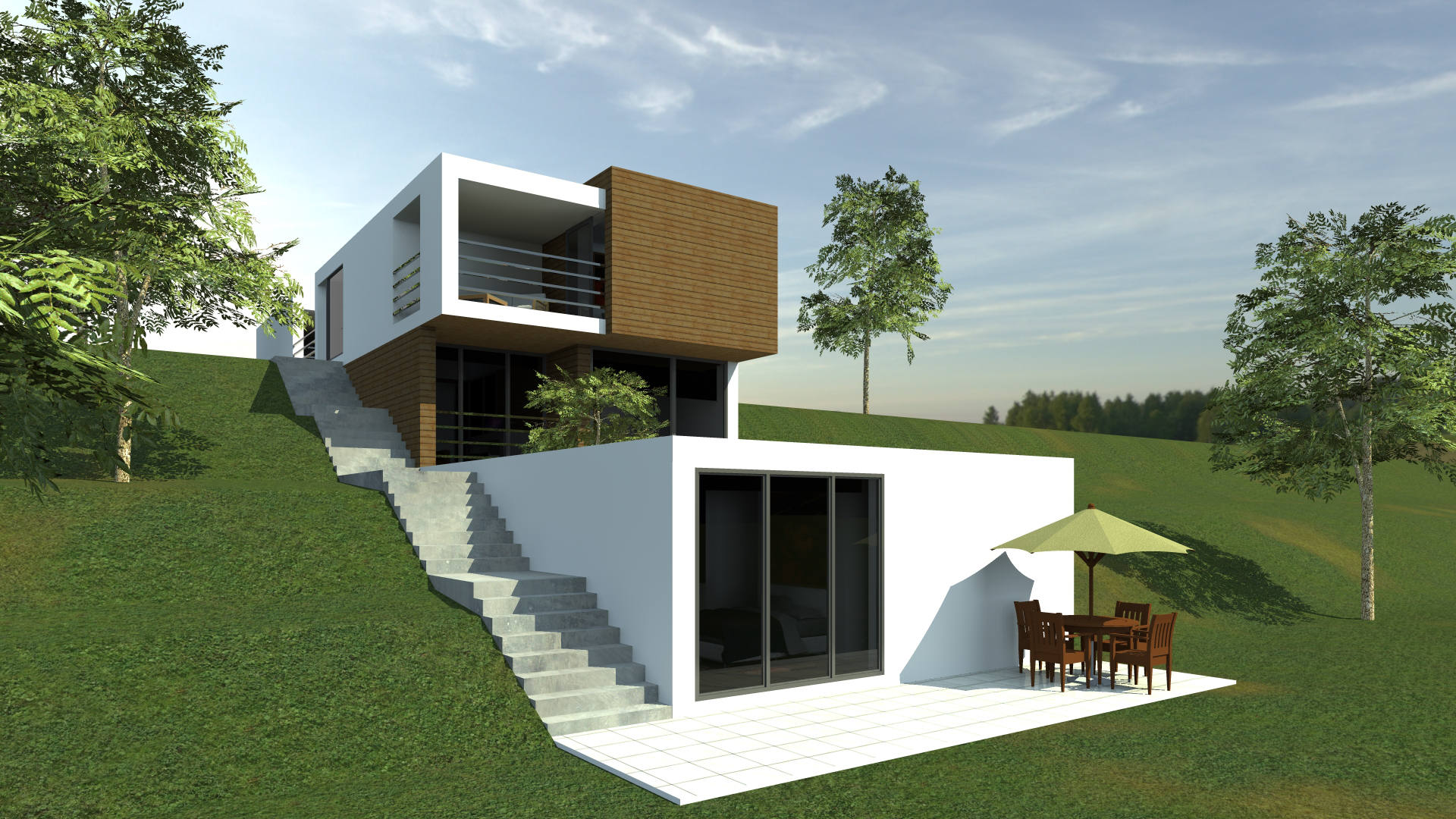 "SINGLE FAMILY HOUSE 3Q ""JOLI"""