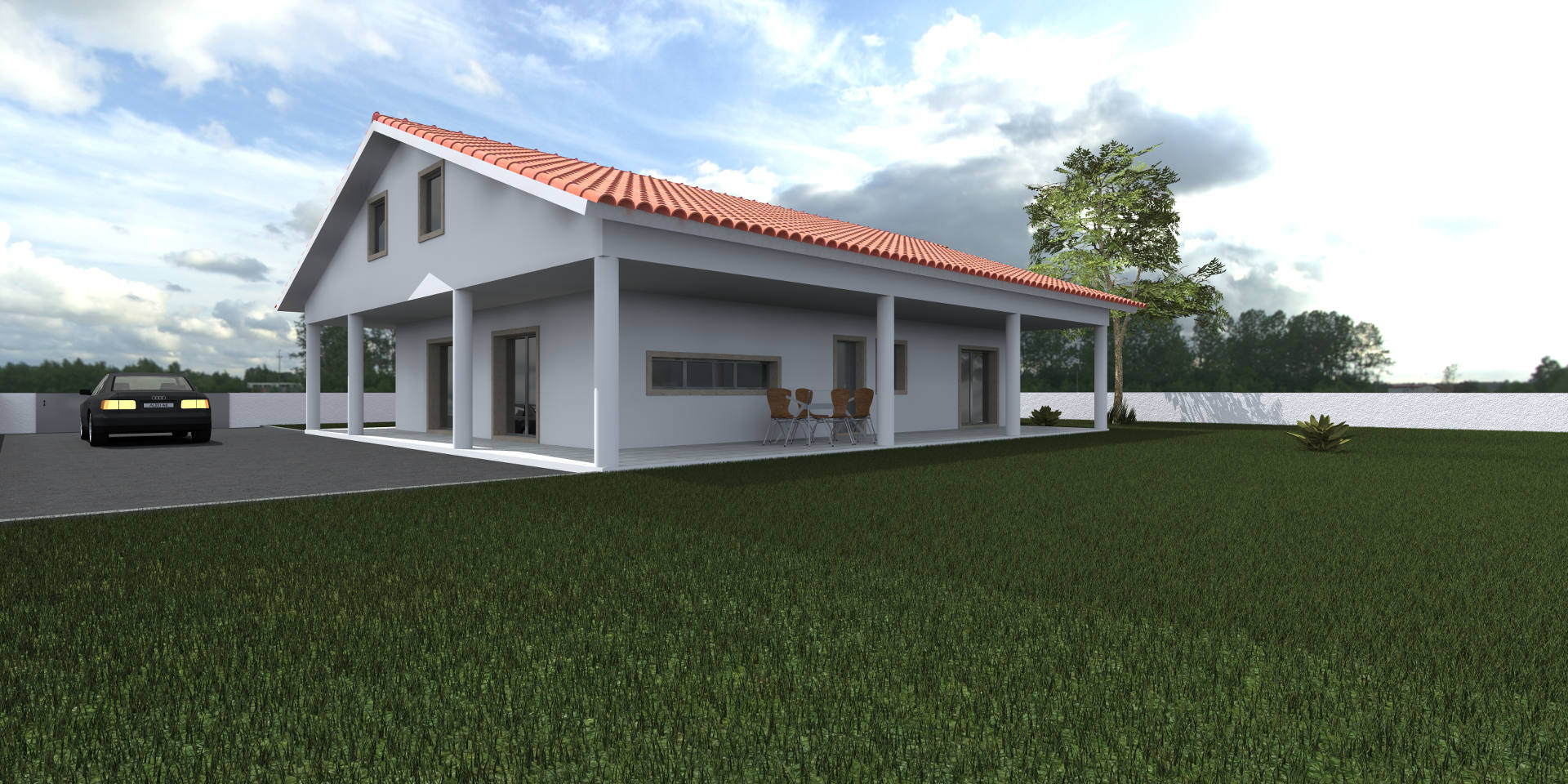 "SINGLE FAMILY HOUSE 2Q "" SATURNO"""